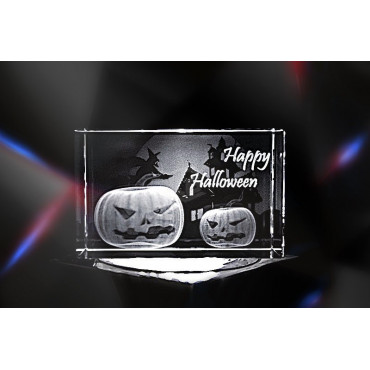 Happy Halloween | 3D Kristallglas Motive