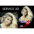3D Service | 1 Person Oberkörper / 1 Tier +16€