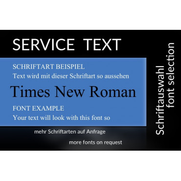 mit Text / Times New Roman