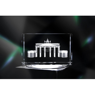 Brandenburger Tor Berlin | 3D Kristallglas Motive