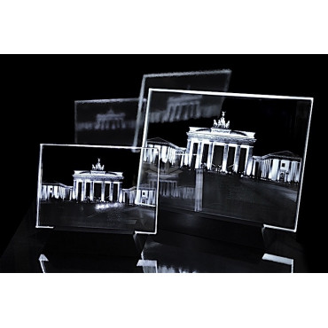 Brandenburger Tor Berlin | 2D Kristallglas Motive