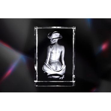 Design Nude - Woman with hat